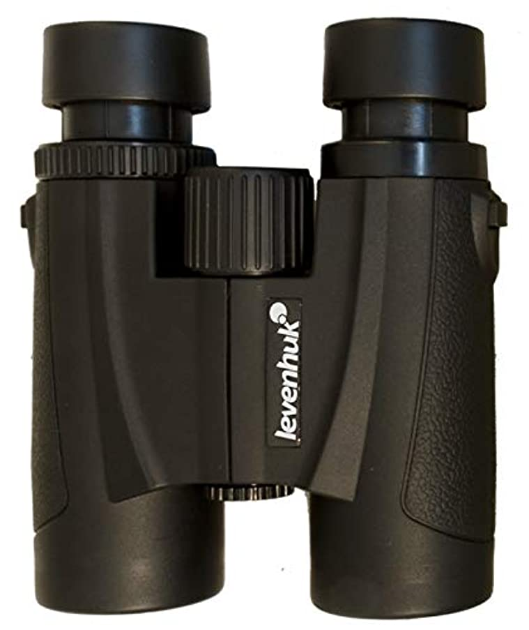 Levenhuk Karma 6.5x32 Compact Lightweight Binoculars with Roof Prisms and Fully Multi-Coated BaK-4 Glass Optics for Sharp, Bright and Clear Images