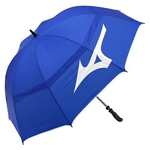 Mizuno 68' Tour Vented Double Canopy Golf Umbrella - Blue/White - OS