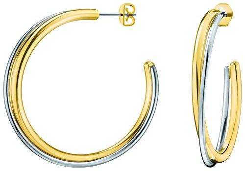 Calvin Klein Damen-Creole Vergoldet KJ8XJE200100