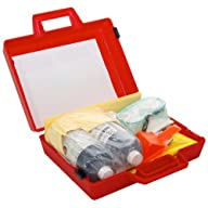 Spilfyter 440133 Specialty Spill Control Battery Acid Spill Kit Open