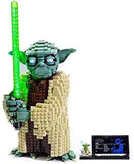 Brick Loot Deluxe LED Light KIT for Your Lego Star Wars: Attack of The Clones Yoda Building Set and Collectible Minifigure...