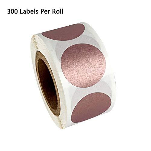 JOYKK 300 stuks/rol ronde sticker stempel enveloppen kaarten pakket scrapbooking briefpapier