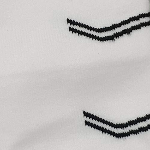 Mayor Men's Super Solid Knee Length Sports Socks for Hockey/Football- 100% Cotton Socks (White/Senior)