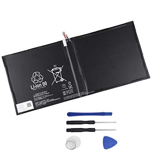 Mukuzi バッテリー Sony Xperia Tablet Z2 SO-05F SGP511 SGP512 互換バッテリー LIS2206ERPC 3.8V 6000mAh