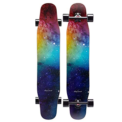 47 inch Carving Skateboards Longboard with Skate T-Tool and Skateboard Backpack Deck for Adults Teens Pro Cruiser Free-Style Sports & Outdoors Load 400 lb