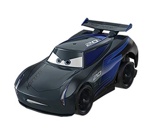 Mattel Disney Cars-Vehículo Turbocarreras Jackson Storm, coches de juguetes niños