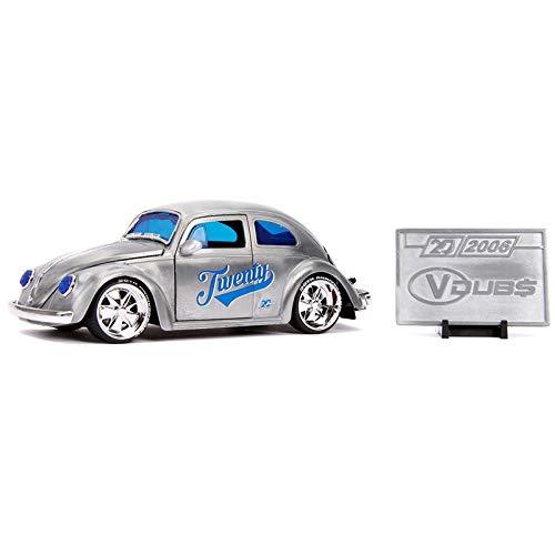 Miniatura - 1:24 - 1959 Volkswagen Beetle Fusca - 20th Anniversary - Jada Toys