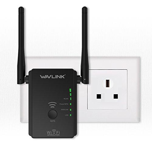 WAVLINK 300Mbit/s WLAN Verstärker | WLAN Repeater | WLAN Router (WPS, Wan/LAN Port) …
