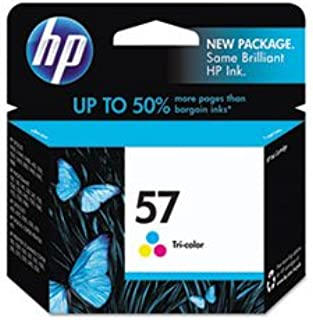 HP HEWC6657AN140 C6657AN (HP 57) INK CARTRIDGE, 500 PAGE-YIELD, TRI-COLOR **Full Package Of:6 EA **