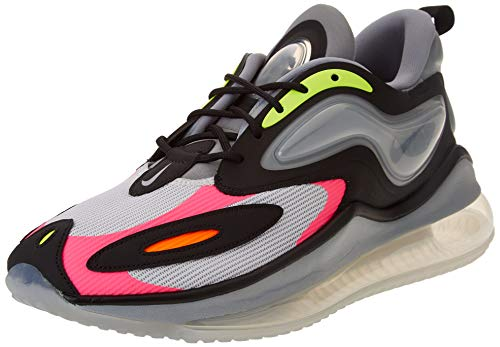 Nike Air MAX Zaphyr, Zapatillas para Correr Hombre, Photon Dust Black Volt Hyper Pink, 40 EU