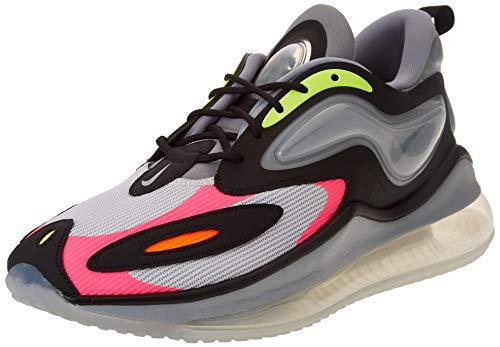 Nike Air MAX Zaphyr, Zapatillas para Correr Hombre, Photon Dust Black Volt Hyper Pink, 48.5 EU