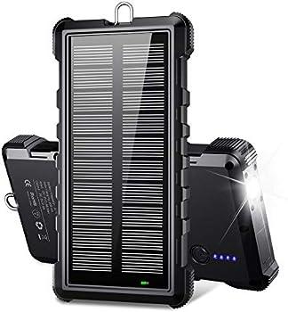 Beartwo 24000mAh Portable Solar Charger