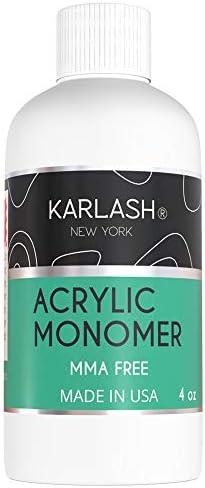 Karlash Professional Acrylic Liquid 4 oz Monomer MMA FREE for Doing Acrylic Nails MMA free Ultra product image