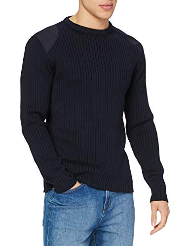 """Armor Lux, Pull Marin """"Binic"""" Homme, Bleu, Large (Taille Fabricant: L)"""