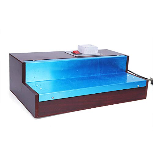 Parfümbox-Verpackungsmaschine, manuelle Filmzigarette Parfümbox CW115 220V Zigarettenduftbox Cellophan-Schrumpffolie Handbuch 0-300 ℃
