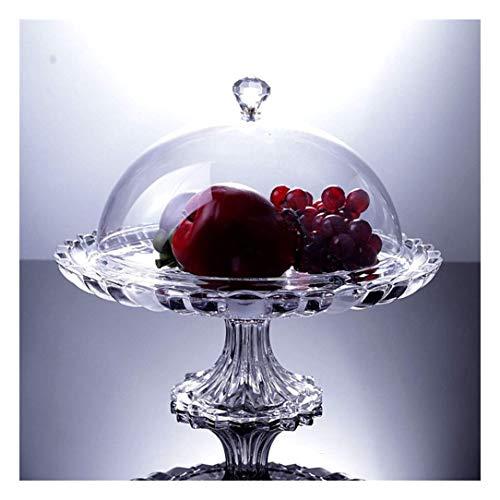 FSJIANGYUE Mesa de café de la Placa de la Fruta de la Personalidad del hogar con la Plato de la Fruta de la Tapa. (Color : -, Size : -)