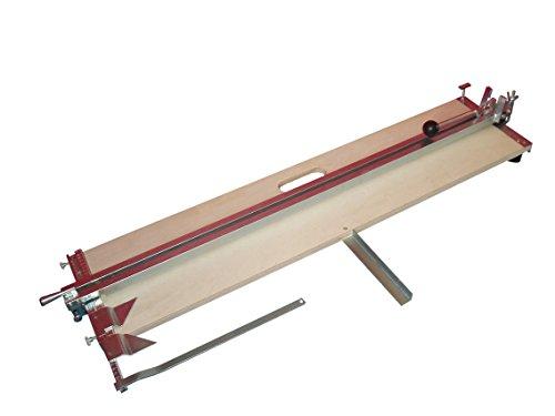 Profi Fliesenschneider Fliesenschneidmaschine 1000 mm Schnittlänge + Gratis Winkel und Ersatzschneidrad mit Achse