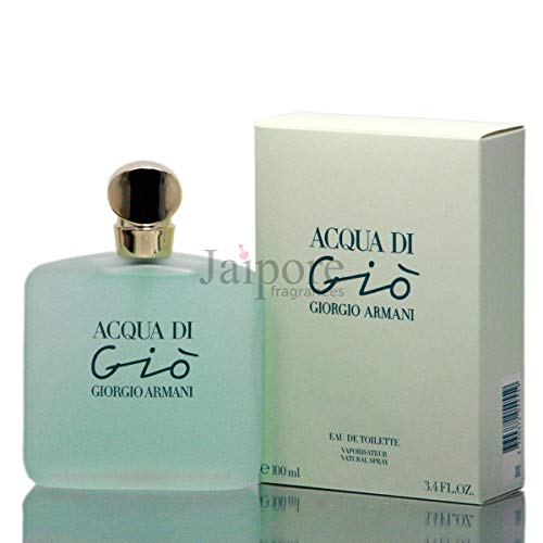 Acqua Di Gio By Giorgio Armani For Women Spray, 3.4 Ounces