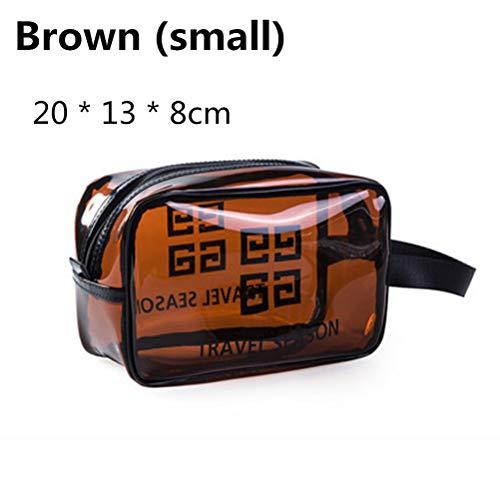 6P6 Net Red Cosmetic Bag Ins Wind Super Portable Femme Voyage Feu Grande Capacité De Lavage Transparent Sac Étanche Boîte De Rangement Sac,B1