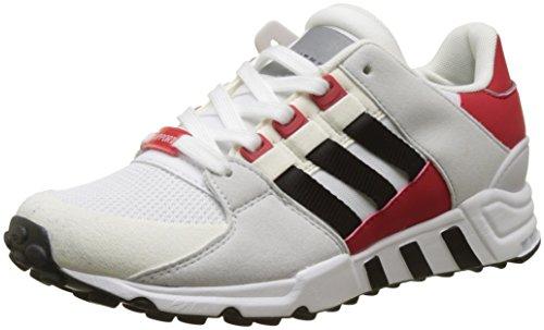 adidas Herren EQT Support Rf Gymnastikschuhe, Elfenbein (FTWR White/Core Black/Scarlet), 37 1/3 EU