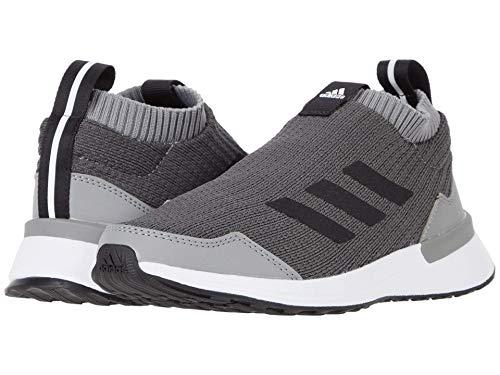 adidas Kids' RapidaRun LL Running Shoe, Grey/Black/Grey, 6