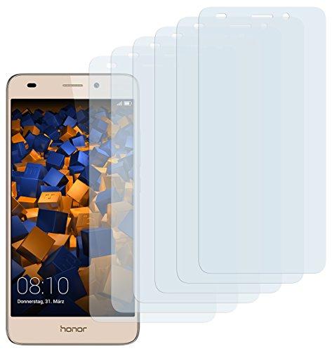 mumbi Schutzfolie kompatibel mit Huawei Honor 5C Folie klar, Bildschirmschutzfolie (6X)