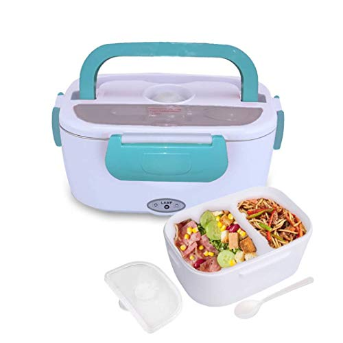 Electric Heating Lunch Box Food Storage Warmer Food Heater Portable Lunch Containers Warming Bento for Home Food Grade Material (Not for Car)
