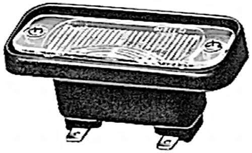 HELLA 2KA 005 049-007 Feu éclaireur de plaque - 12V - Montage encastré - gauche/droite - Quantité: 120