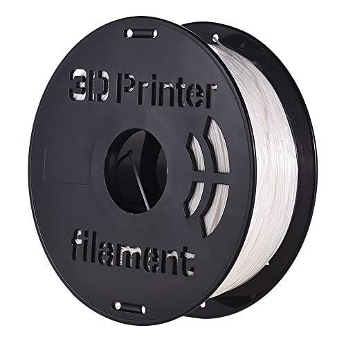 Entweg Filamento in policarbonato,1KG / Bobina PC in policarbonato Filamento 1.75mm Diametro 240 ℃ Temperatura di stampa per stampanti 3D Materiali da disegno Forniture