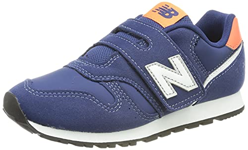 New Balance YZ373V2 Sneaker, Natural Indigo, 35 EU