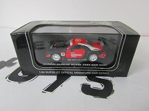 D'origine Kyosho 1/64 Bandai Dunlop SC430 essai de voitures 2007 (japon importation)