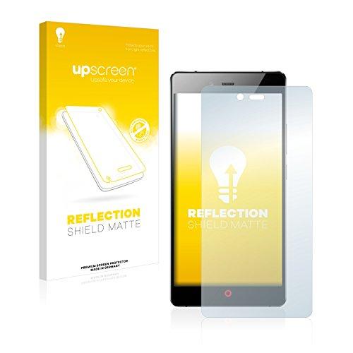 upscreen Entspiegelungs-Schutzfolie kompatibel mit ZTE Nubia Z9 Max – Anti-Reflex Bildschirmschutz-Folie Matt