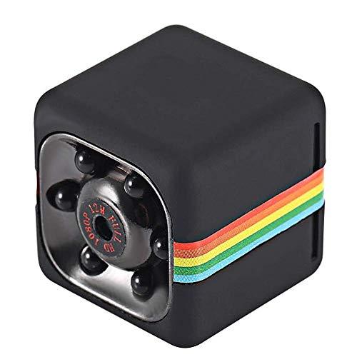 Mini Spy cámara Oculta Portable pequeña HD Nanny CAM 1080P HD detección de Movimiento de la visión Nocturna cámara de Seguridad encubierta Cubierta ( Color : +32G Memory Card )