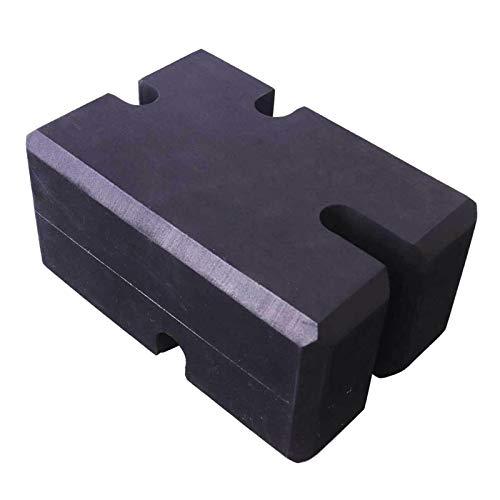 koolsoo Anti-Slip Bench Press Block, Powerlifter Improve Single Training Helper Assistant Foam Pad Brisk, Fitness Workout Exercising Equipment Accessories - L