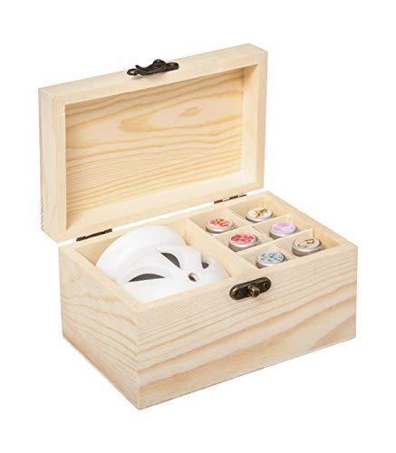 Caja de aromas de madera
