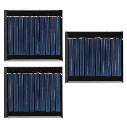 Worii olycrystalline mini placa solar de silicone 5V, placa de painel solar, iluminação solar de rua ao ar livre, publicidade solar para iluminação de jardim, sistema de iluminação doméstica pequena