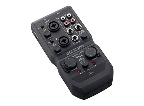 Zoom U-24 - Interfaz de audio