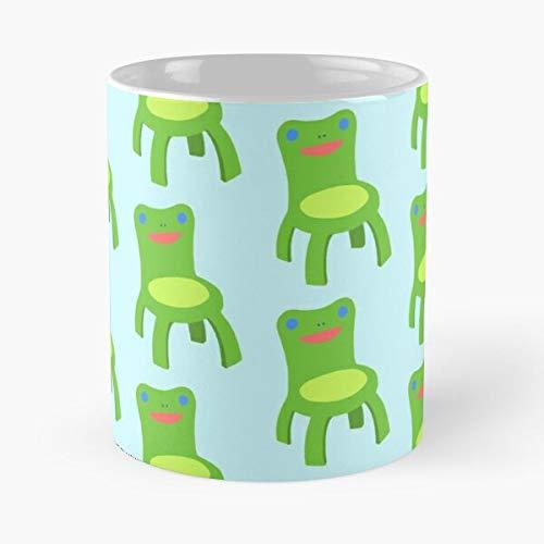 Awesomdeals Crossing Animalcrossing Chair Acnl Acnh Frog Animal Ac Froggy Best 11 oz Kaffeebecher - Nespresso Tassen Kaffee Motive
