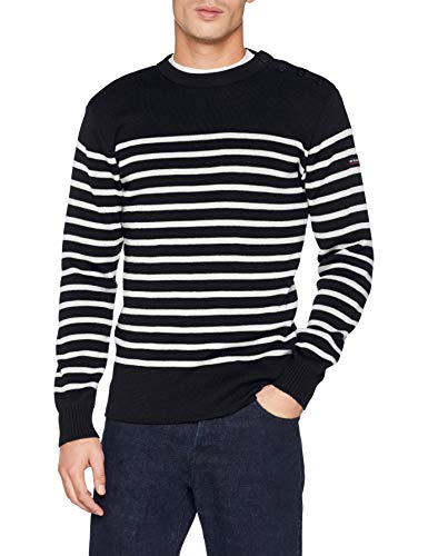 """Armor Lux, Pull Marin """"Paimpol"""" Homme, Multicolore, XX-Large (Taille Fabricant: 2XL)"""