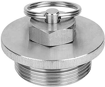 Namvo Mini tapa de barril de cerveza Homebrew con válvula de seguridad de alivio de presión para barriles de 2 L, 3,6 L, 5 L y 8 L