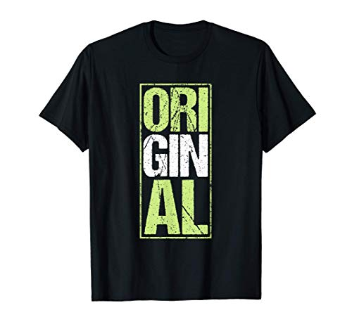 Gin Tonic Original Wacholder Schnaps Cocktail Geschenk T-Shirt