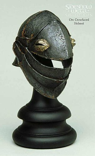 Orc Crowfaced Helm - 1/4 Scale - Lord of the Rings - Sideshow - Limited Edition