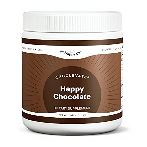 Elevacity - Choclevate - Nootropic-Infused Hot Chocolate Mix - Support Mood, Mental Focus, Energy, and Motivation - 6.4 Oz Powder Mix, 30 Servings