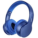 LOBKIN Bluetooth Headphones Over Ear, Stereo Wireless Headset with Microphone, Foldable Wireless and Wired Headphones with TF Card MP3 Mode and FM Radio for iPhone/Samsung/iPad/PC bluetooth stereo headset for iphones May, 2021