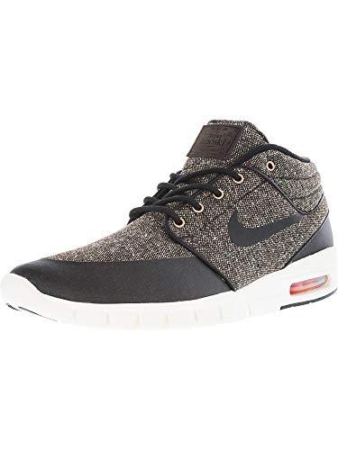 Nike Stefan Janoski MAX Mid, Zapatillas de Skateboarding para Hombre, Marrón (Baroque...