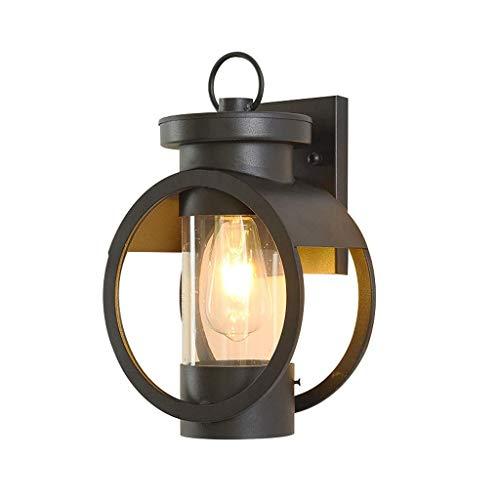 DJPP Lámpara de Pared Impermeable para Exteriores, con Cable, Luces de Pared...
