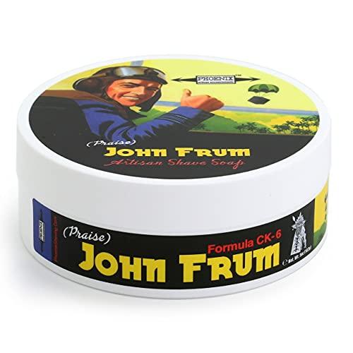 Phoenix Artisan A. Jabón de Afeitar John Frum Fórmula CK6, Único, Estándar