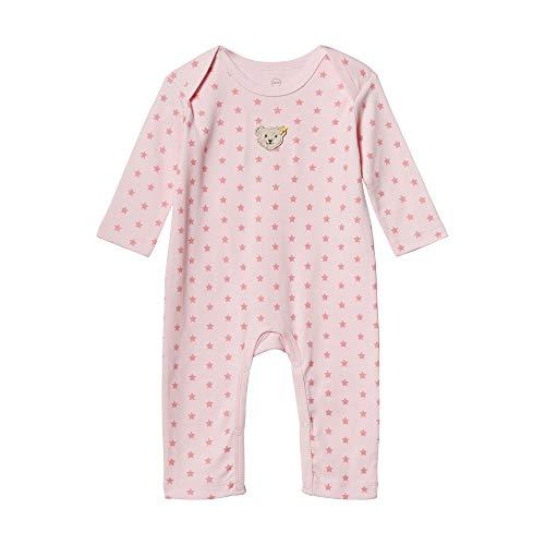 Steiff Baby-Mädchen Schlafanzug Schlafstrampler, Rosa (Barely Pink 2560), 56 (Herstellergröße: 056)