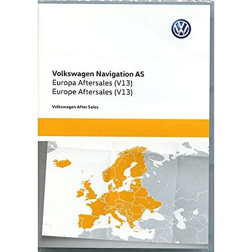 Volkswagen 5NA919866BG Tarjeta de memoria SD Europa West V13 Navegador GPS Actualización de mapas *** Solo para Discover Media (System AS) 2ª generación *** Solo para código PR 7RD ***