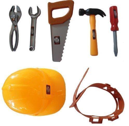 Tolles Geschenk Für Kinder ! 7 stück Werkzeug-gürtel Set Bob Der Baumeister Plastik Konstruktion...